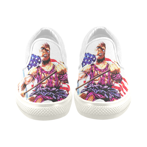 Toxic Avenger Classic Canvas Slip Ons (Re-Issue)