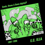 "5 Digital Album Bundle & E.C. Illa ""Chicago Hip Hop"" T-Shirt"