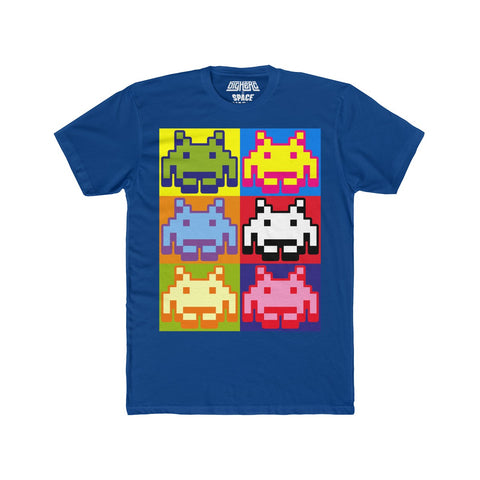 Space Invaders Pop Art T-Shirt