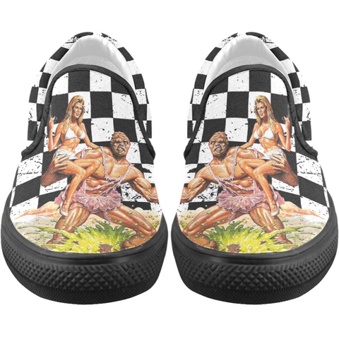 The Toxic Avenger Slip On Shoes