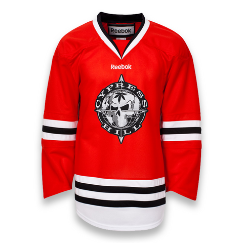 LAST CALL! Reebok NHL Gamewear Cypress Hill Jersey - Chicago Style