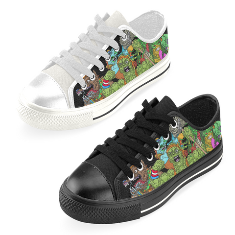 Toxic Crusaders Crew Canvas Low Tops (Re-Issue Remix)