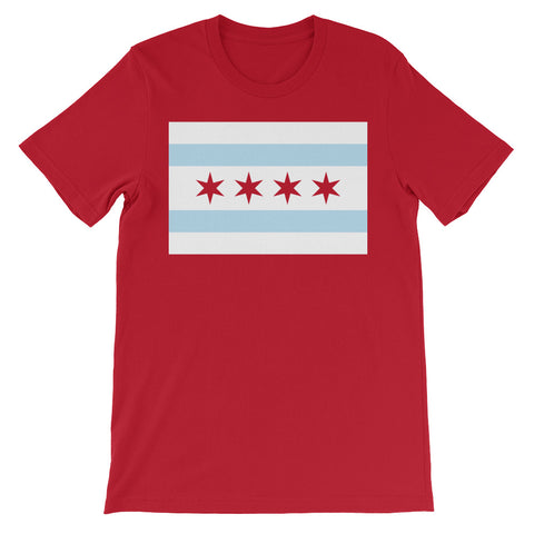 Chicago Classic Flag on Red