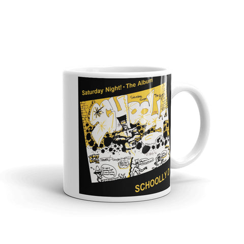 "Schoolly D ""Saturday Night! - The Album"" Mug"