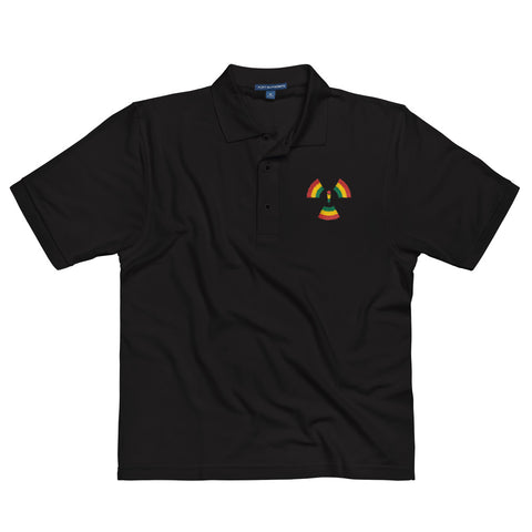 Microphone Misfitz Embroidered Polo Shirt