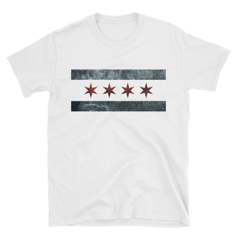 Chicago Gritty Flag T-Shirt