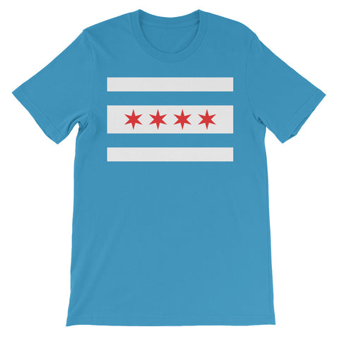 Chicago Classic Flag on Blue