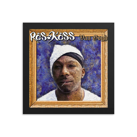 "Ras Kass ""Van Gogh"" framed artwork"