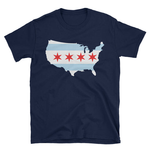 United States of Chicago T-Shirt