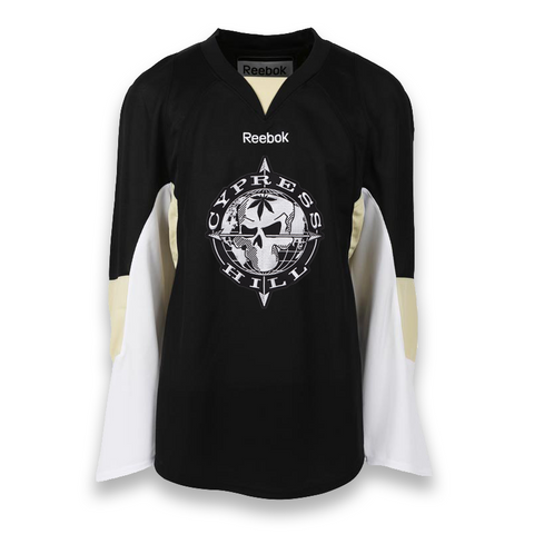 LAST CALL! Reebok NHL Gamewear Cypress Hill Jersey - Pittsburgh Style