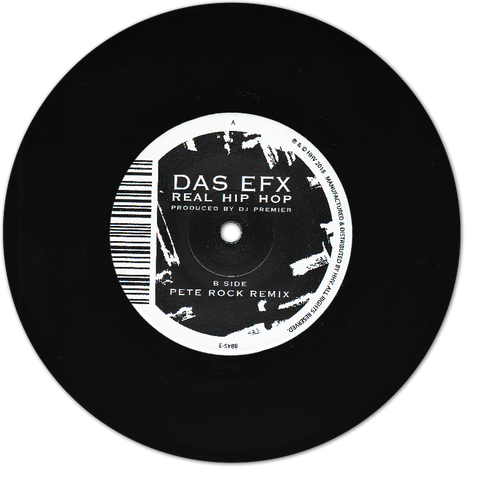 "DAS EFX ""Real Hip Hop"" 7"""