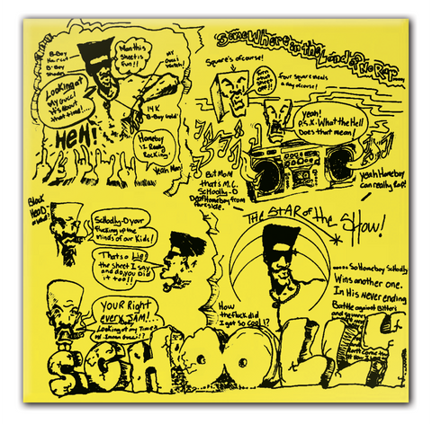 Schoolly D (album) Limited Edition Vinyl CD