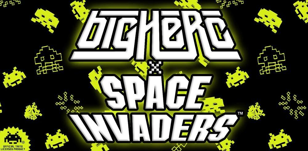 Big Herc x Space Invaders