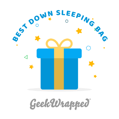 Quandary 15F Down Sleeping Bag - GeekWrapped Award