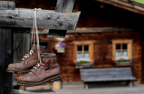 drying boots