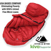 Snowmass 0°F Ultralight 650FP Down Sleeping Bag Sleeping Bag Hyke & Byke