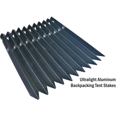 Replacement Tent Accessories - Stakes, Stake Presser, and Guylines