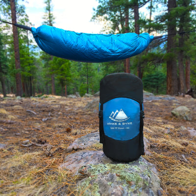 Crestone 15°F Hammock Compatible Ultralight 650FP WR Down Sleeping Bag