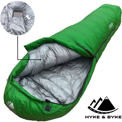 Katahdin 15°F 625 Fill Power Hydrophobic Sleeping Bag with Advanced Synthetic