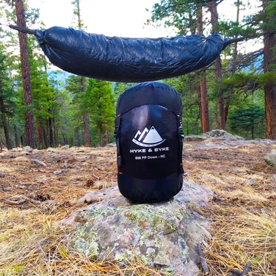 Antero 0°F Hammock Compatible 800FP WR Goose Down Sleeping Bag