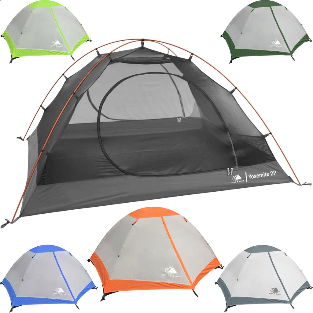 Yosemite 2 Person Backpacking Tent With Footprint Hyke Byke