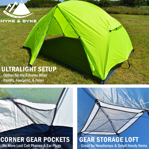 Zion 2P Backpacking Tent
