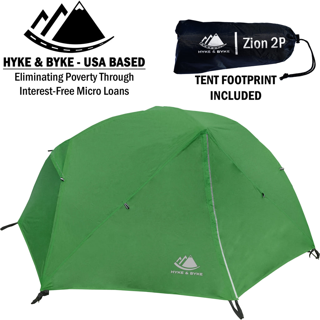 Zion 2 Person Backpacking Tent with Footprint  sc 1 st  Hyke \u0026 Byke & Buy Hyke \u0026 Byke Zion 2 Person Backpacking Tent with Footprint Online
