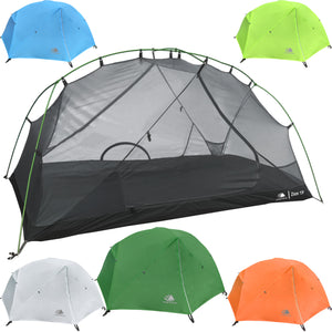 Zion 1 Person Backpacking Tent with Footprint