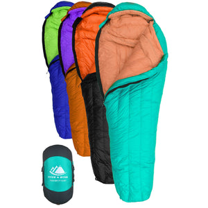 Eolus 800 Fill Power 15°F Ultralight Goose Down Sleeping Bag