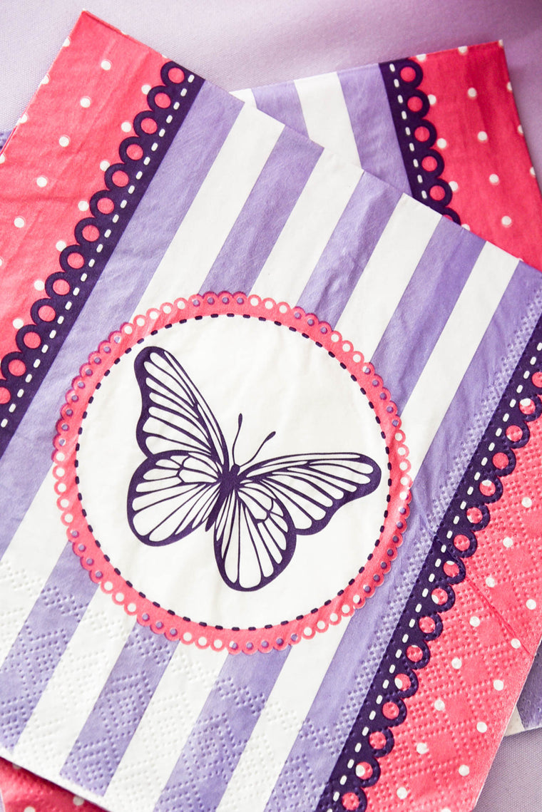 Secret Garden Napkins (Pack of 20)