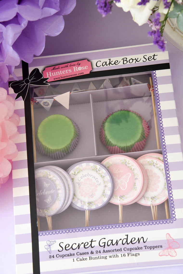 Secret Garden Cake Box Set