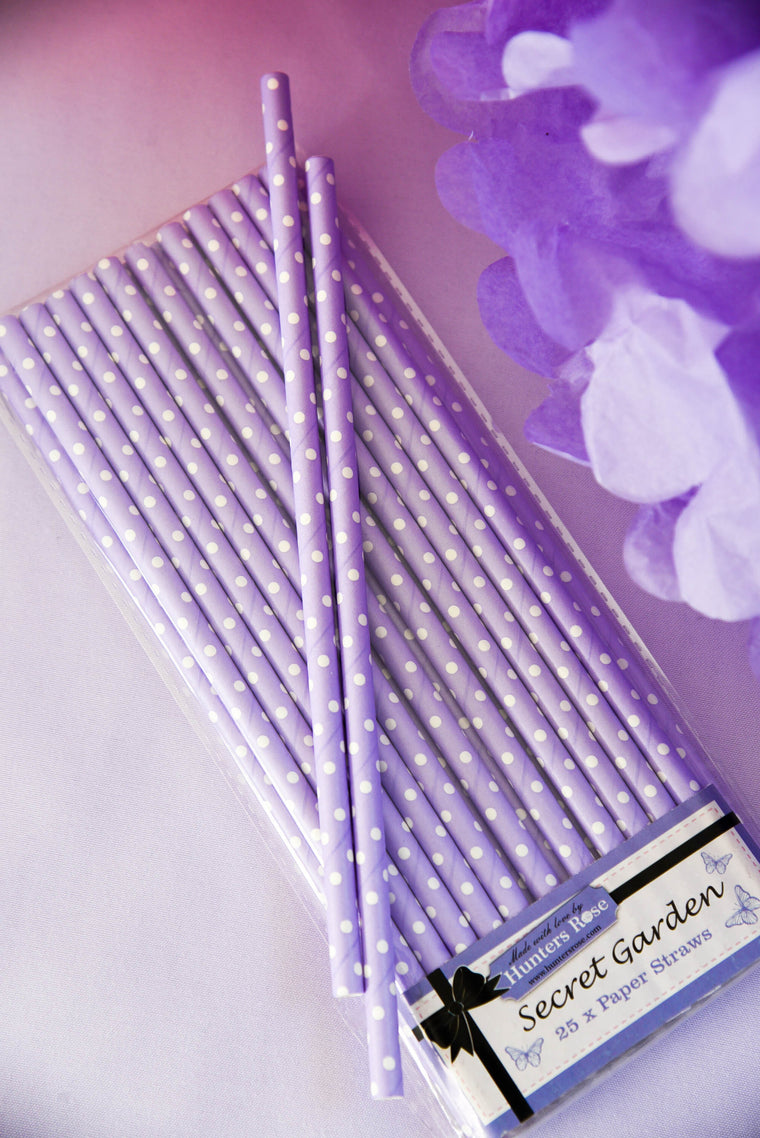 Secret Garden Paper Straws (Pack of 25)