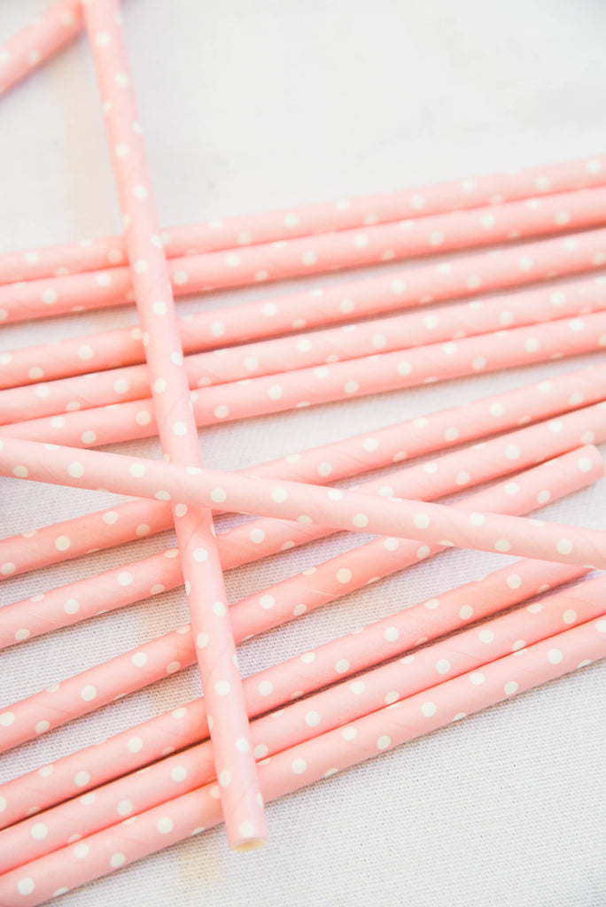 High Tea Paper Straws (Pack of 25)