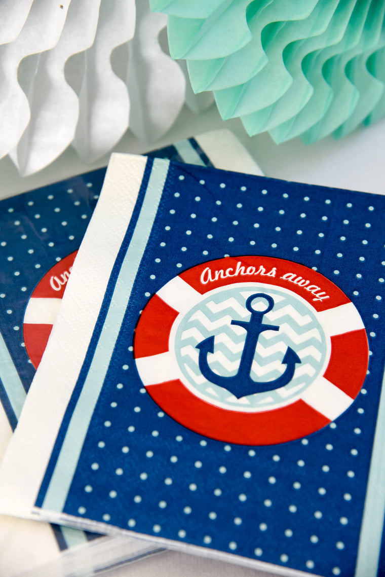 Little Sailor Napkins (Pack of 20)