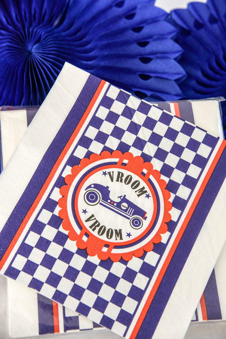 Vintage Racer Napkins (Pack of 20)