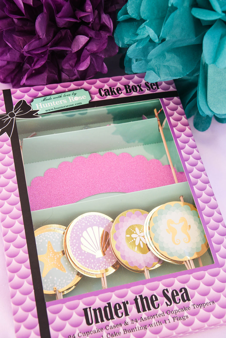 Under The Sea Cake Box Set