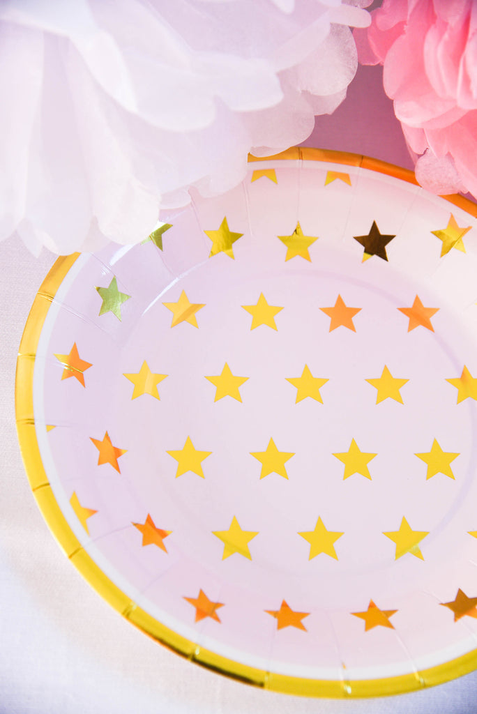Sparkle Paper Plates (Pack of 8)