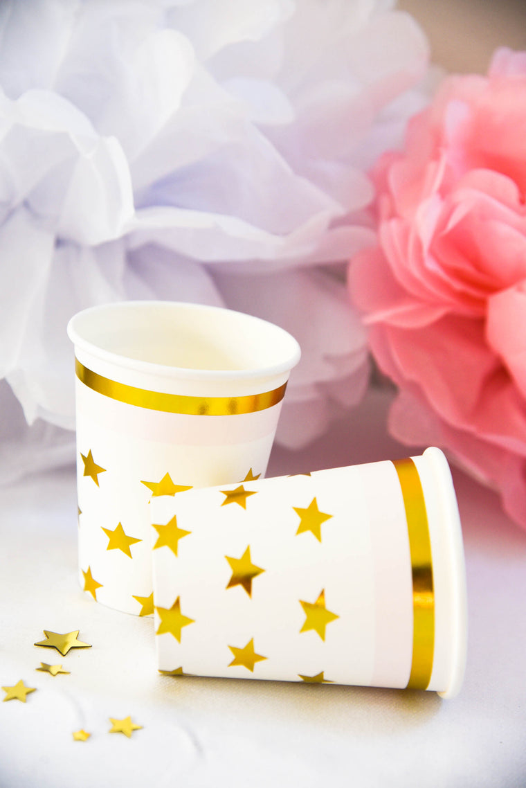 Sparkle Paper Cups (Pack of 8)