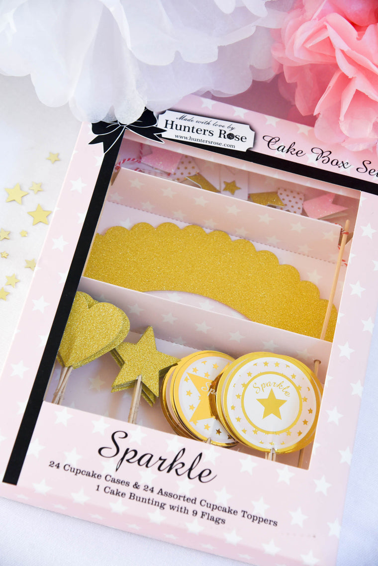 Sparkle Cake Box Set