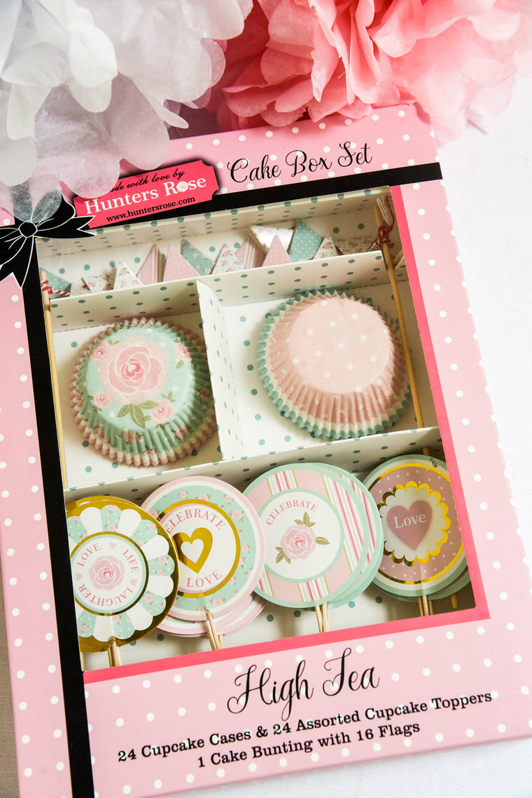 High Tea Cake Box Set
