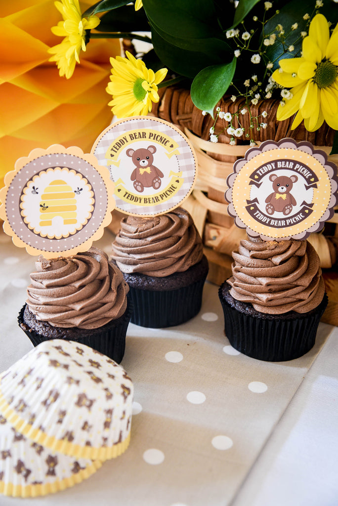 Teddy Bear Picnic Cake Box Set