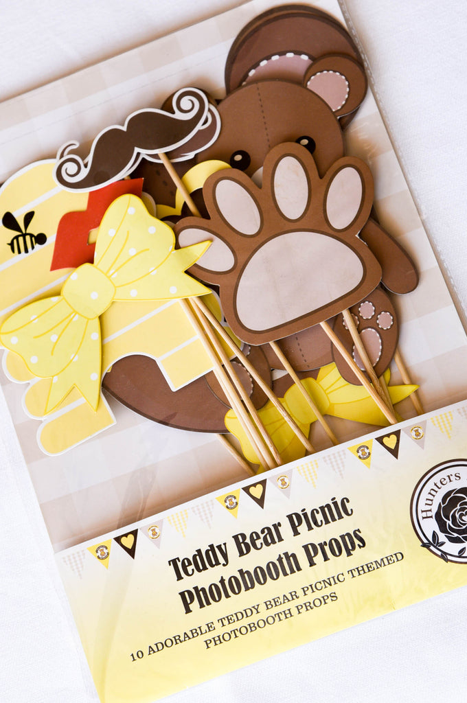 Teddy Bear Picnic Photobooth Props
