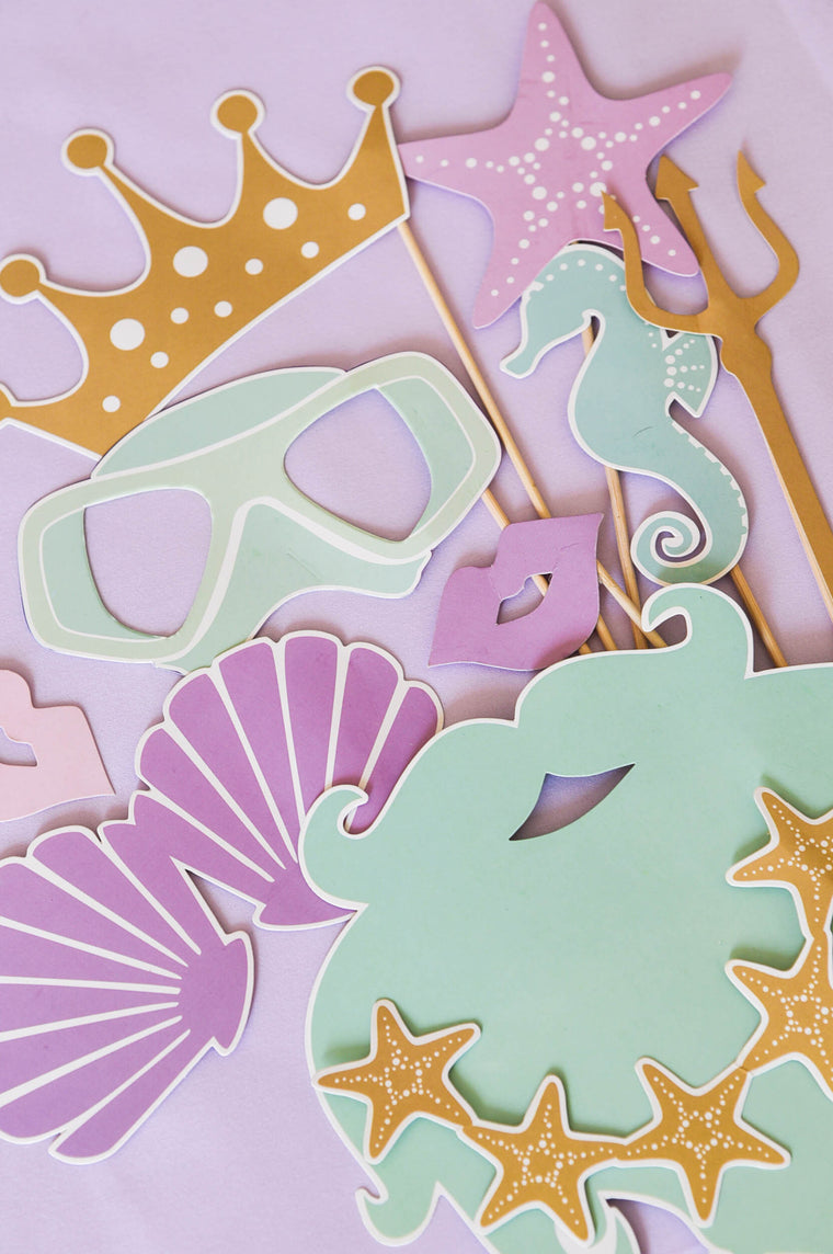 Under The Sea Photobooth Props