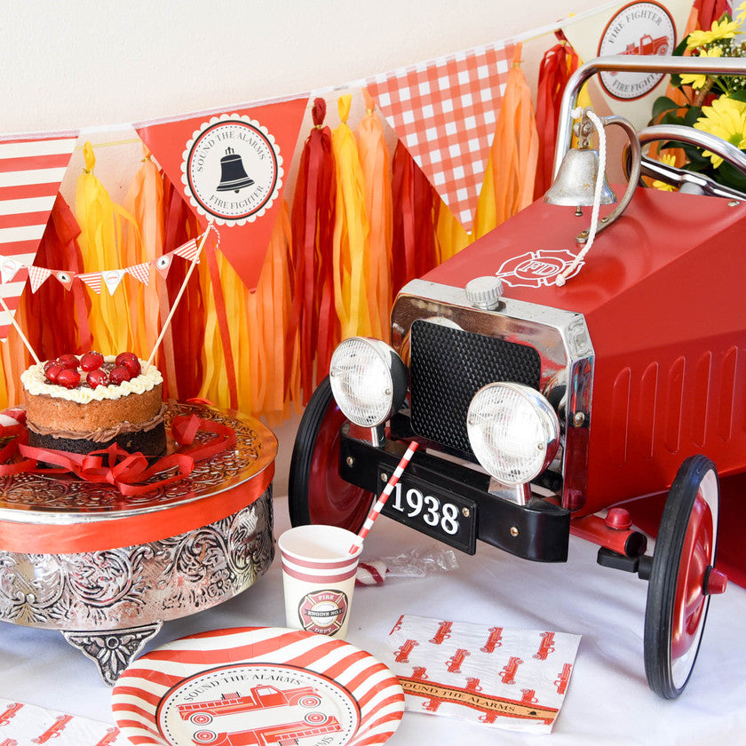 Vintage Fire Truck Collection