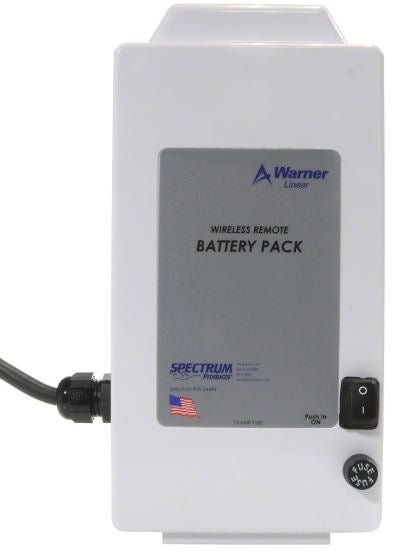 Warner Linear Wired Battery SBC-24V-BP5 -  Part# 143007