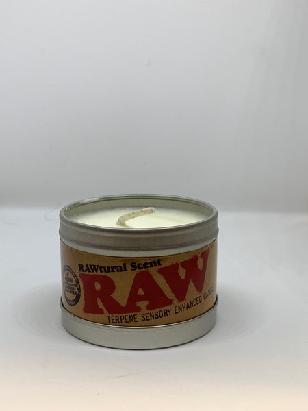 RAW Terpene Sensory Enhanced Candle