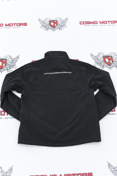 Men's Black Cosmo Motors Jacket