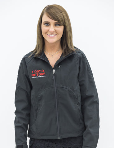 Women's Black Cosmo Motors Jacket (Original)
