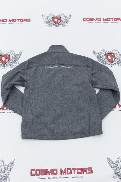 Men's Gray Cosmo Motors Jacket