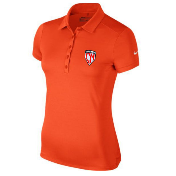 Women's Cosmo Motors Nike Polo (Victory Solid)